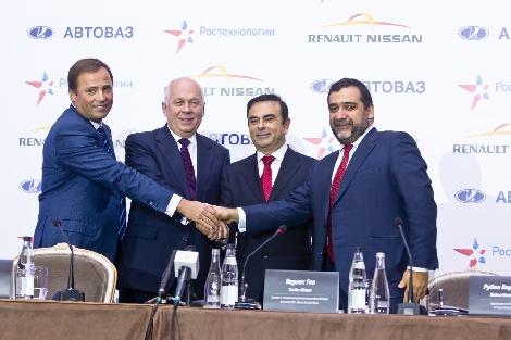 Альянс Renault-Nissan и ГК «Ростехнологии» подписали историческое соглашение